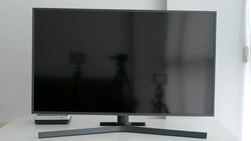 Reflejos en Samsung RU7405