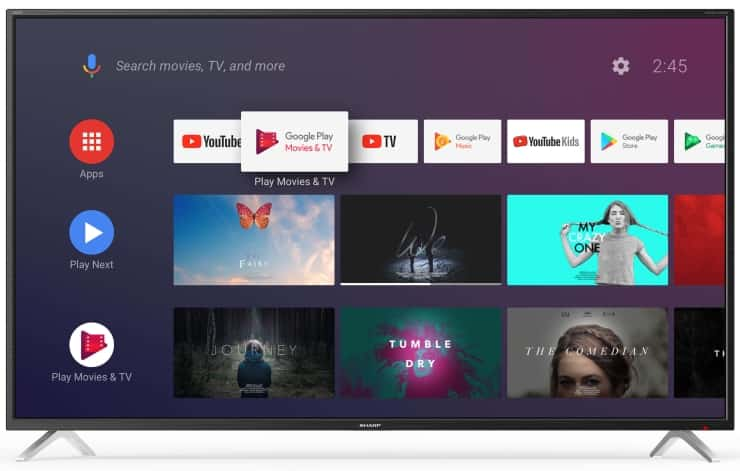 Sharp BL2 Android TV