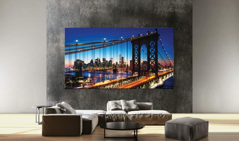 Nuevo Samsung The Wall MicroLED