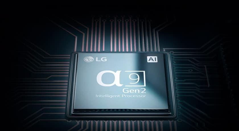 Procesador Alpha 9 2ª generación LG OLED C9
