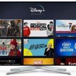 Modelos TV compatibles con Disney+ España