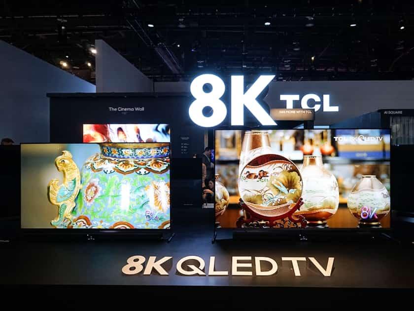 TCL 8K X91 presentación el CES 2020