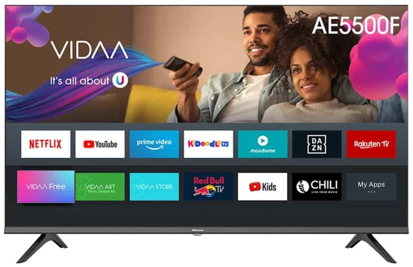 Hisense AE5500F Full HD Smart TV