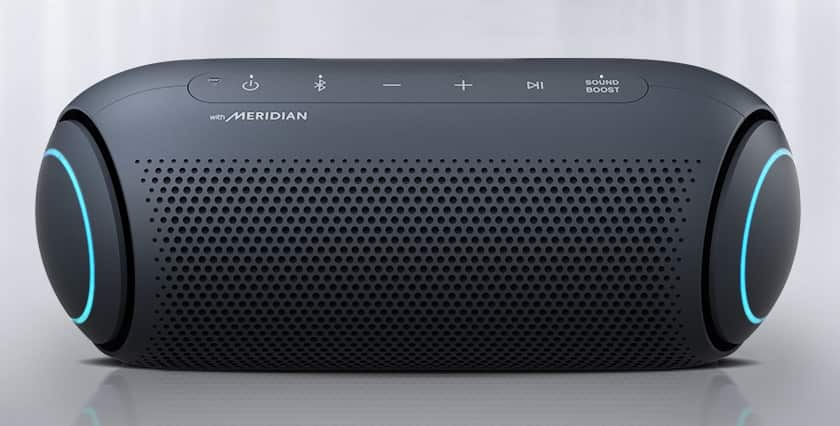 LG PL5 XBOOM GO Meridian Audio