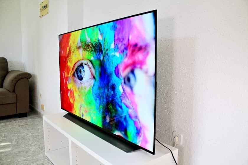 Ángulos de visión LG C9 OLED