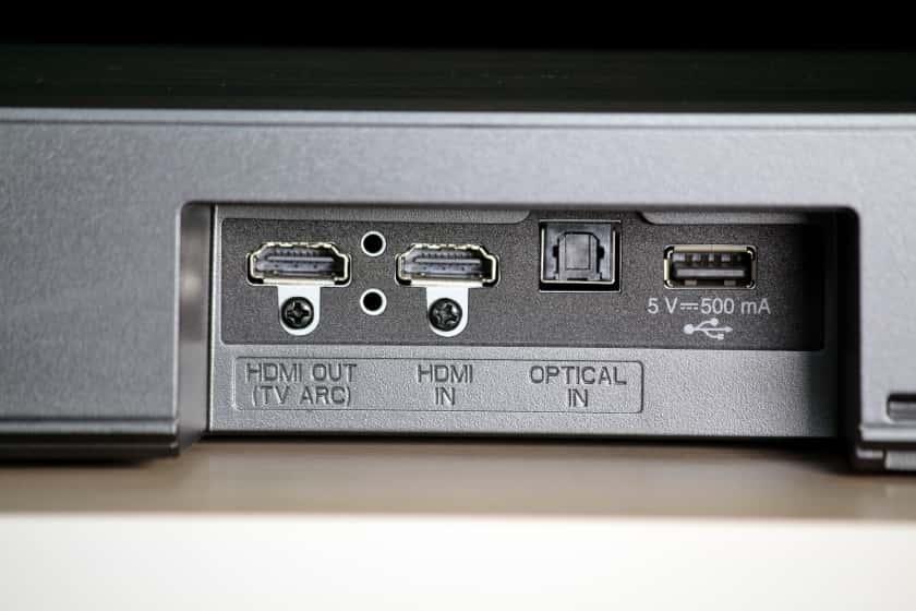 Conexiones barra de sonido SL8YG