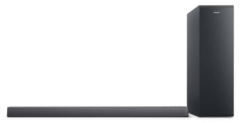 Philips TAB6305 barra de sonido 2.1 color negro