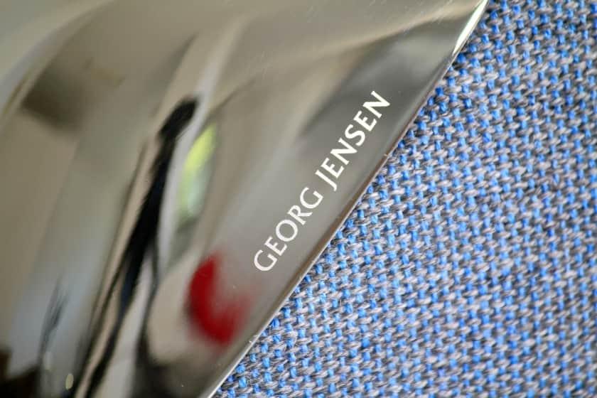Placa de metal con Logo Georg Jensen TAJS50