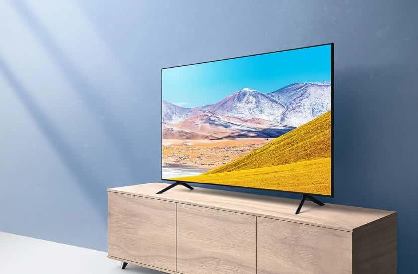 Descripción Televisor Samsung TU8000