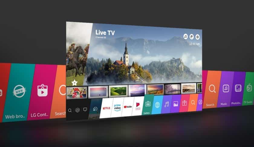 LG Smart TV WebOS 4.5