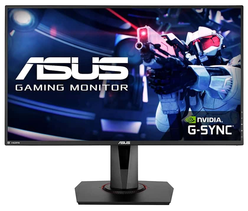 Monitor gaming ASUS VG278QR compatible con G-Sync