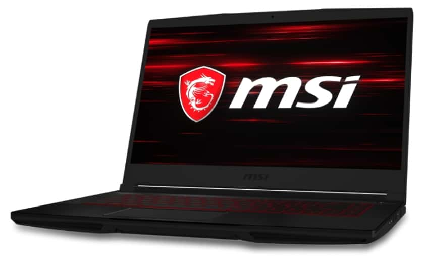 Portátil gaming MSI GF63 Thin