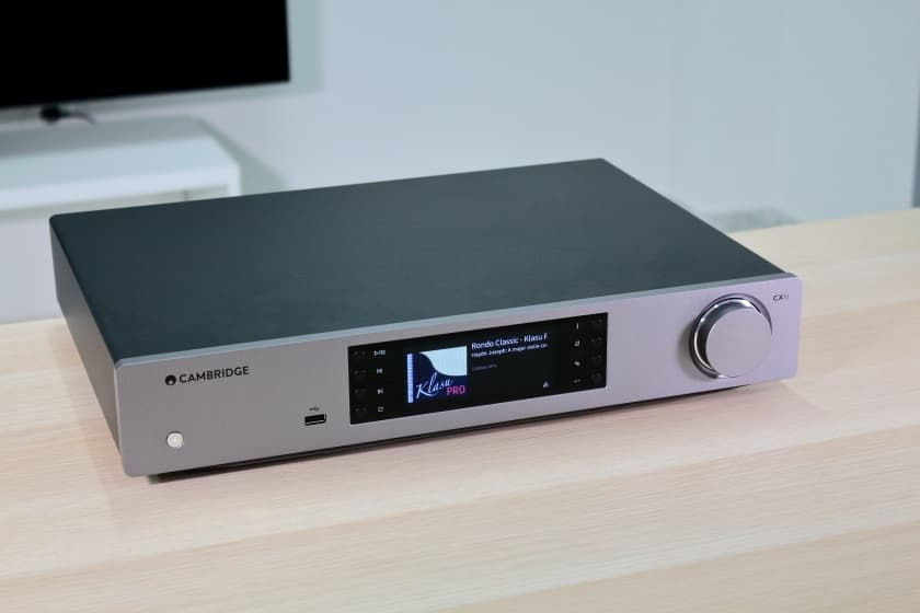 Review reproductor streaming Cambridge Audio CXN V2