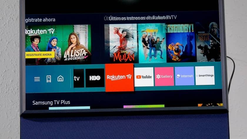 Smart TV Samsung The Sero Tizen 5.5