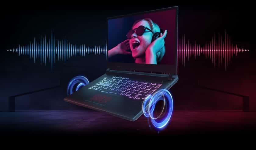 Sonido surround - Los mejores portátiles gaming