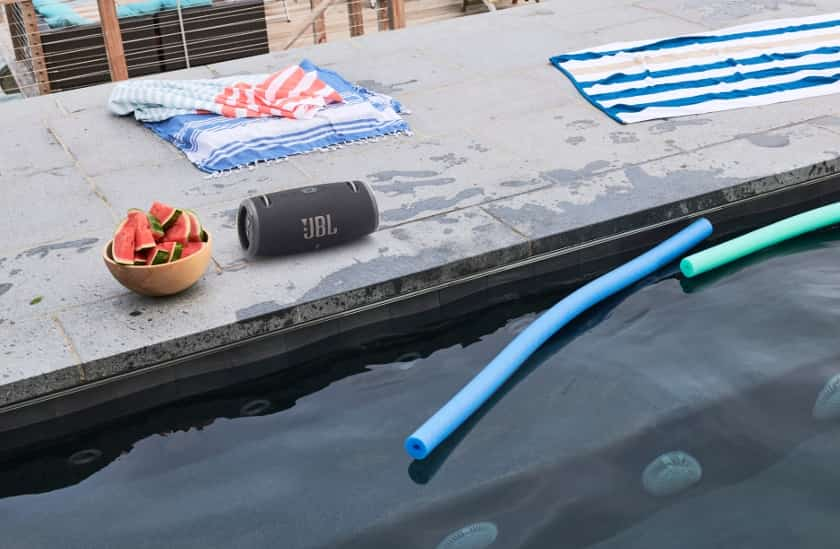 Resistencia al agua y al polvo JBL Xtreme 3
