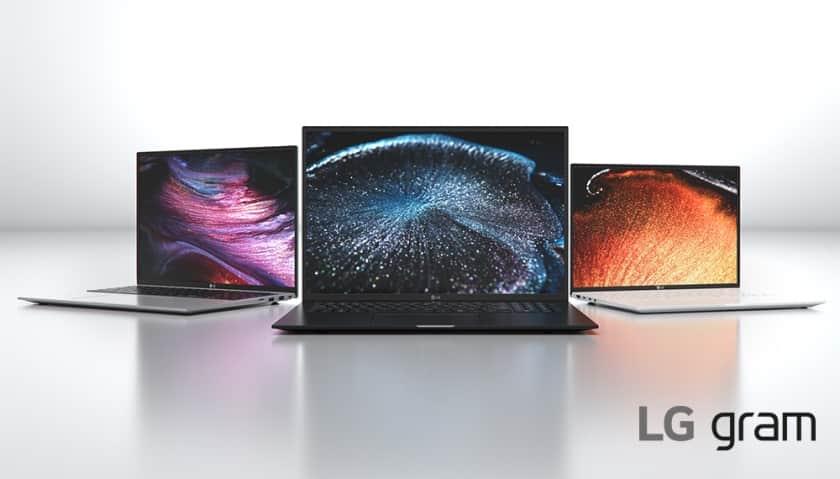 Nueva línea de portátiles LG Gram 2021