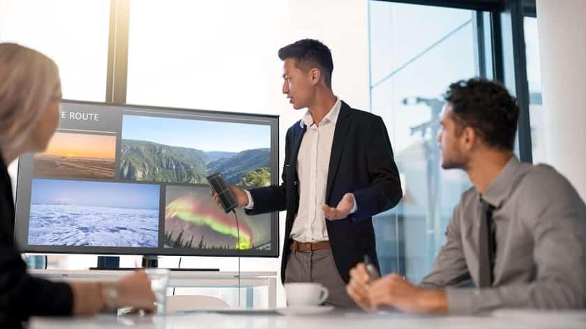 Samsung DeX para usar en presentaciones
