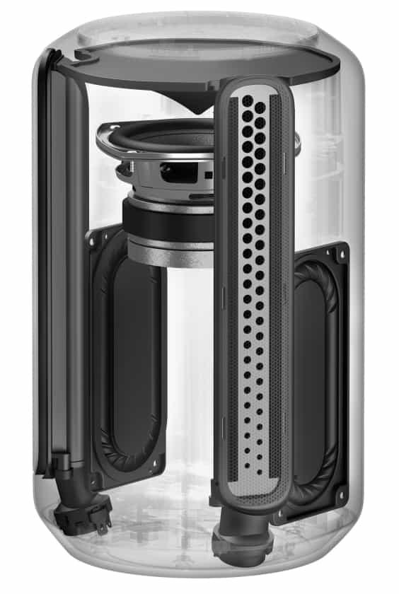 Sony SRS-RA3000 configuración de los altavoces
