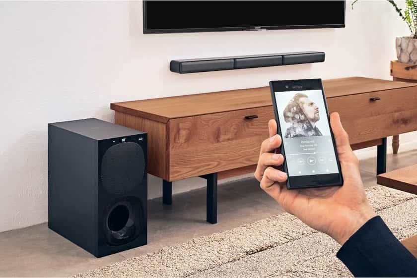 Barra de sonido Sony HT-S40R con sistema 5.1 y 600W