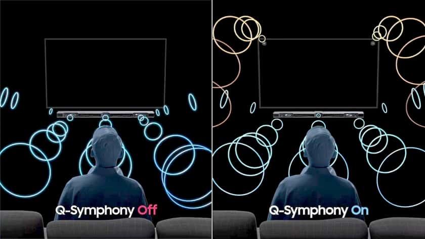 Q-Symphony de Samsung