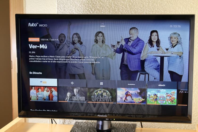 Análisis y opinión fuboTV app películas, series y TV en streaming