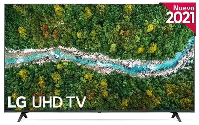 LG UP77006 nuevo TV UHD 4K HDR 2021