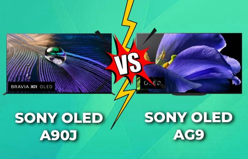 Sony A90J vs AG9 - Comparativa TV OLED
