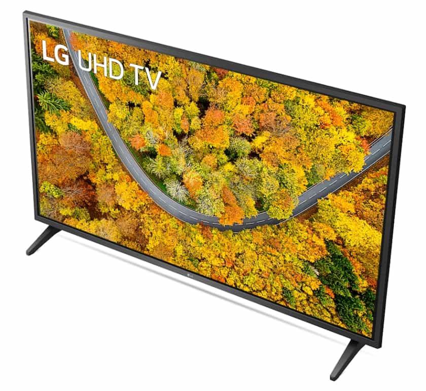 Diseño peana TV LG UP75006