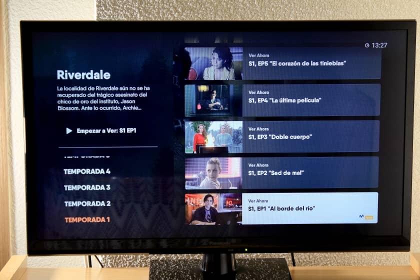 Temporadas Riverdale de Movistar Series