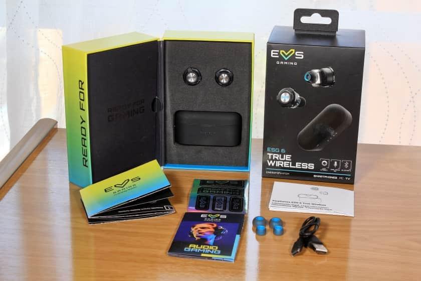 Unboxing con accesorios incluidos Energy Sistem Tre Wireless ESG6