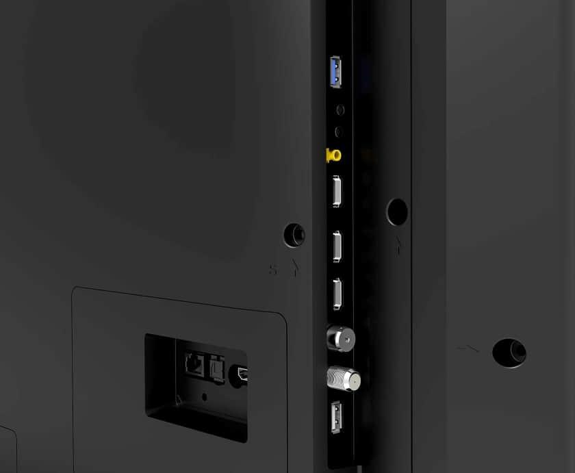 Conexiones TV OLED Hisense A9G 2021