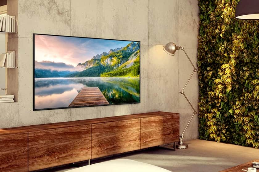 Nueva serie AU8005 Crystal UHD de Samsung