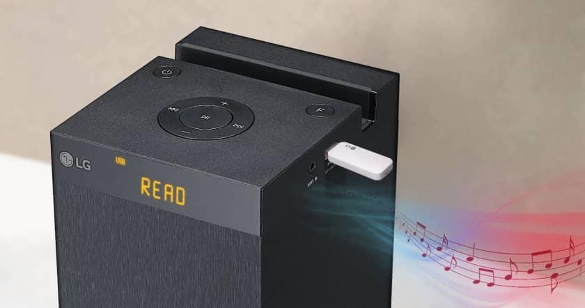 Ver torre de sonido LG RK1 con USB reproductor en Amaazon