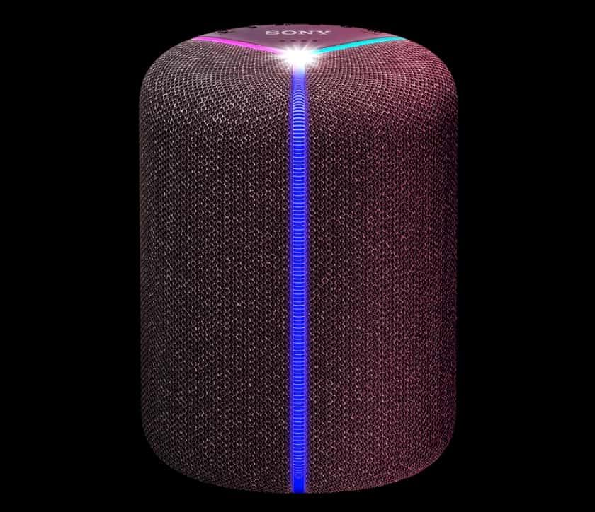 Altavoz inalámbrico Sony SRS-XB402M con efecto de luces multicolor
