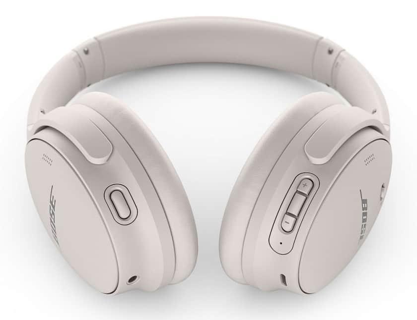 Botones de los auriculares Bluetooth QuietComfort 45