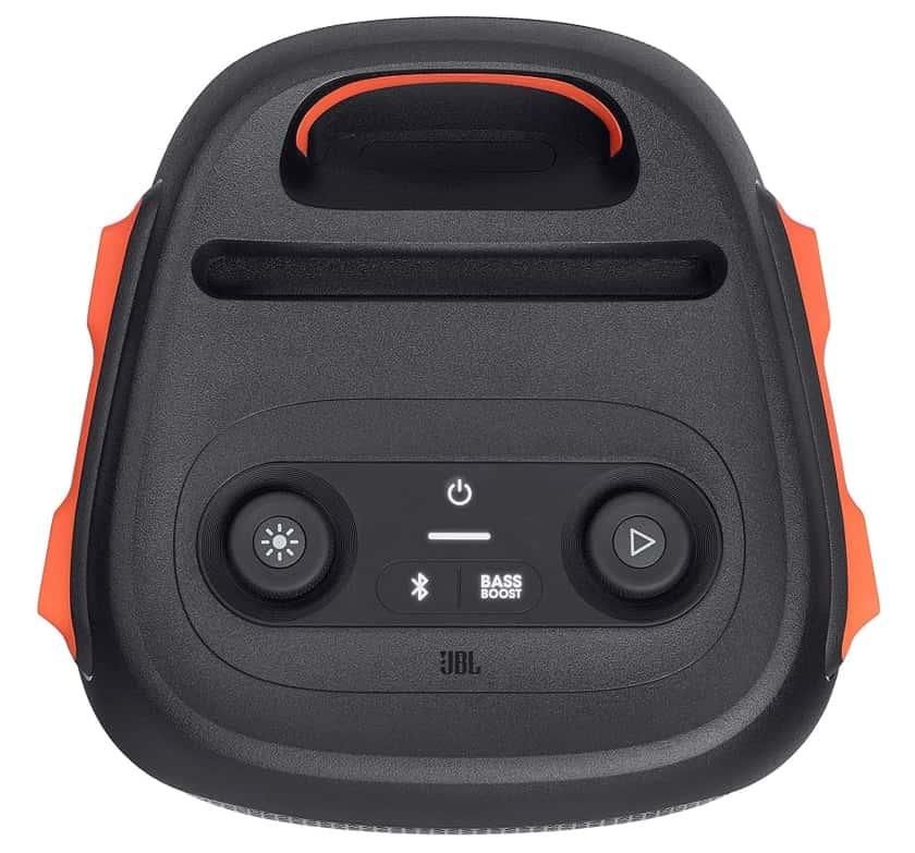 Consola de controles JBL PartyBox 110 altavoz Bluetooth portátil