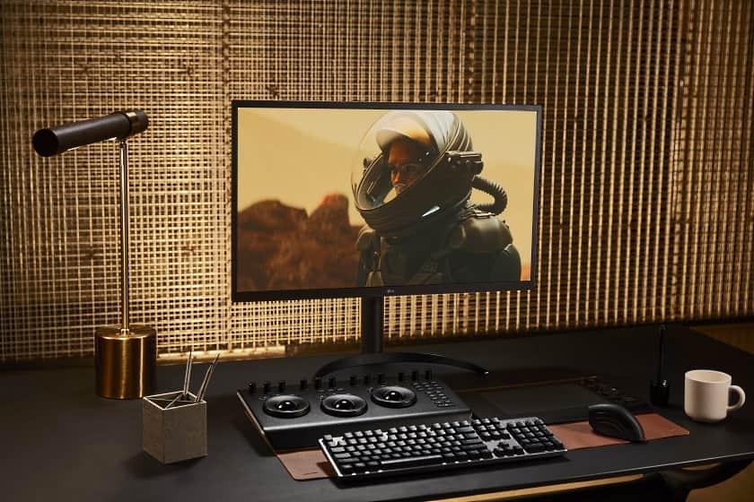 Monitor Ultrafine OLED 32EP950 con 1 ms de tiempo de respuesta