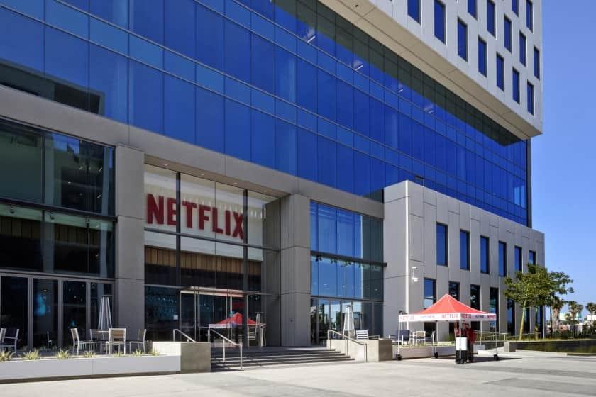 Oficina de Netflix en Los Ángeles