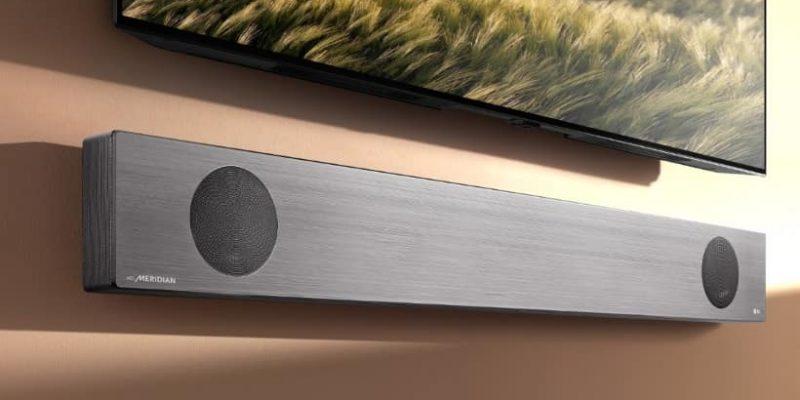 LG mostrará sus barras de sonido SL10, SL9 y SL8 en el CES
