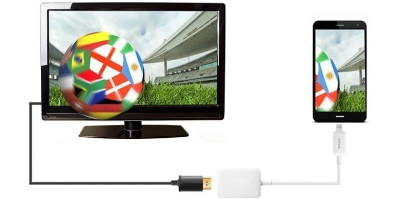 Como conectar un móvil, una tablet o un PC a tu TV