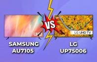 Samsung AU7105 vs. LG UP75006 – Comparativa gamas 4K económicas