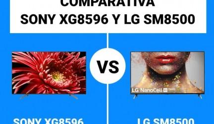 Sony XG8596 vs. LG SM8500: Comparativa gama media LED
