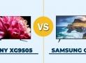 Comparativa TV: Sony XG9505 y Samsung QLED Q70R