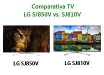 Comparativa TV: Opinión LG SJ850 vs. SJ810