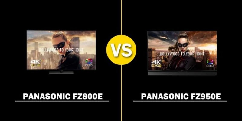 Comparativa OLED Panasonic FZ800 vs. FZ950