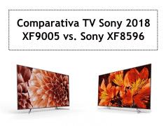 Comparativa televisores 4K Sony XF9005 vs. XF8596 2018