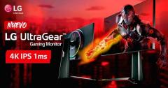 Nuevo monitor gaming LG UltraGear 27GP950 con HDMI 2.1