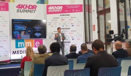 Samsung habla sobre la evolución del 8K en la 4K HDR Summit 2019
