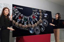 LG presenta un televisor OLED 8K de 88 pulgadas